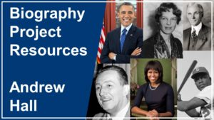 Biography Project Resources